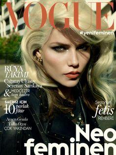 Natasha Poly by Cuneyt Akeroglu Vogue Turkiye October 2014