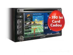 Sistem de navigatie Alpine INE-W920R cu harta Europei , bluetooth si slot USB   Reduceri Oferte si Promotii in Romania   Sisteme de navigatie