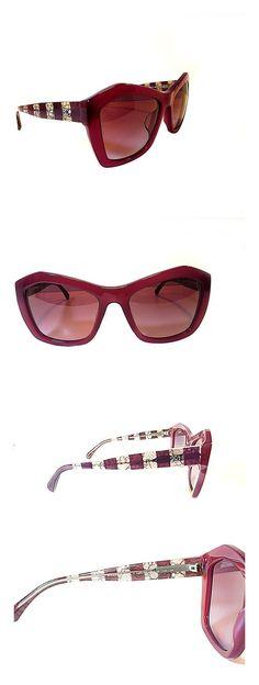 3dc2207ddc6ff Chanel Designer Women s Sunglasses CH 5296 C1485 S1 Burgundy