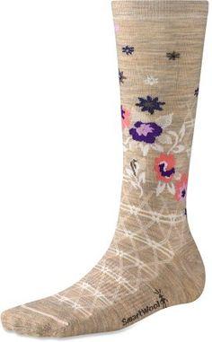 SmartWool Cherry Blossom Socks - Women\'s @HeadOverHeelsLLC