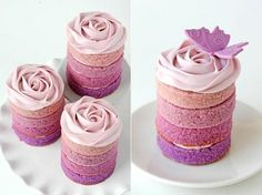 This one is for you Jackie--A new twist on Tiny cakes.