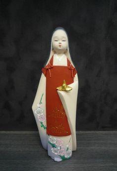 Hakata Doll Japanese Figurine Child Chitose Takeshi Tsushida H26CM | eBay