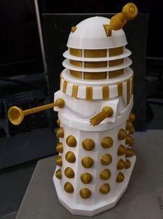 EXTERMINATE! - Dalek printed by David Wu #mmu2 #toysandgames #prusai3