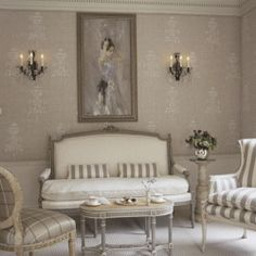 An amazing selection of Showhouse rooms in White. (Via Traditional Home)  <3