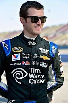 Kasey Kahne, driver of the No. 5 Time Warner Cable Chevrolet SS, during NASCAR Sprint Cup qualifying on Friday, March 21 at the two-mile oval in Fontana, Calif. http://www.pinterest.com/jr88rules/nascar-2014/  #NASCAR2014