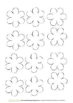 Fiori di carta shabby facili e veloci - DIY Paper shabby flowers quick
