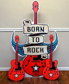 Born to Rock Standup from BirthdayExpress.com