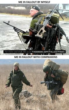 Everything Fallout has members. Fallout 4 Funny, Fallout Facts, Fallout 4 Mods, Fallout New Vegas, Fallout Quotes, Fallout Comics, Video Game Logic, Video Games Funny, Funny Games