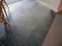 soapstone tile floor | Soapstone tile floor, no oil | Flickr - Photo Sharing!
