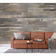 Genuine engineered hardwood wall planks with adhesive peel and stick backs. Available in many styles and colors, shop peel and stick wood wall planks today.