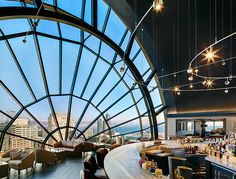 The View Lounge at San Francisco Marriott Marquis. Fonte: http://www.marriott.com.