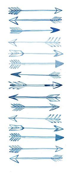 Arrow Tattoo Sketches