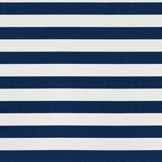 Bunbury Stripe Outdoor Fabric - Marine - No Chintz Textiles Bench Cushions, Outdoor Cushions, Throw Cushions, Outdoor Fabric, Striped Fabrics, Soft Furnishings, Surface Design, Branding Design, Textiles