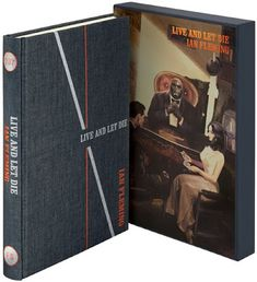 The Book Bond: The Folio Society releases LIVE AND LET DIE February 6th, July 18th, Charlie Higson, Spectre 2015, Licence To Kill, The Secret History, Tans, Dark Horse, The Book