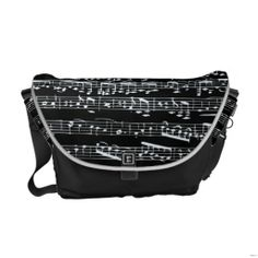 Black and white music notes commuter bag Music Items, Music Stuff, Music Things, Mint Bag, Commuter Bag, Baby Grand Pianos, Pack Your Bags, Dress For Success, Beautiful Bags