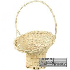 Kôš prútený - 50 cm - Prútené koše - Bambu.sk