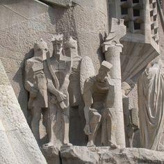 Josep Maria Subirachs, Passion of Christ, Sagrada Familia, Barcelona.