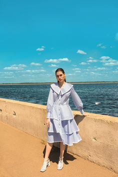 Effortlessly stylish with subtle hints of cool-girl charm, explore Aussie label Lilya's stylish and luxe statement pieces from its new OASIS collection. Look Fashion, Korean Fashion, Womens Fashion, Fashion Design, Bella Hadid Outfits, Types Of Dresses, Cute Summer Outfits, Elegant Outfit, Dress Collection
