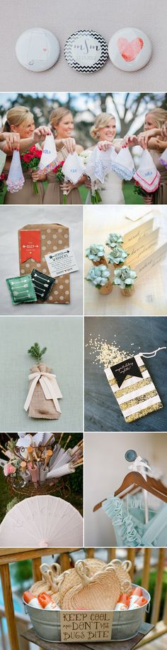 48 Creative Handmade Wedding Details - favors and gifts