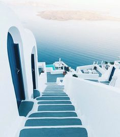 Find images and videos about travel, Greece and santorini on We Heart It - the app to get lost in what you love. Oh The Places You'll Go, Places To Travel, Travel Destinations, Greece Destinations, Santorini Hotels, Santorini Greece, Santorini Island, Samos, Destination Voyage