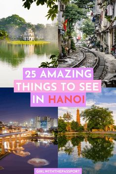 25 Amazing Things to See in Hanoi, Vietnam! - Girl With The Passport Vietnam Travel Guide, Asia Travel, Hanoi Vietnam, Vietnam Girl, Cool Places To Visit, Places To Travel, Vacation Places, Amazing Destinations, Travel Destinations