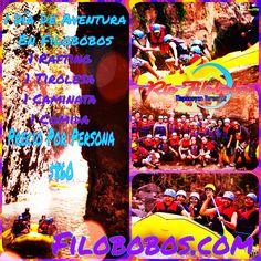 Si sólo tienes un día VIVELO en #filobobos http://www.filobobos.com