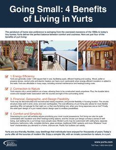 Going Small: 4 Benefits of Yurt Living (Checklist)
