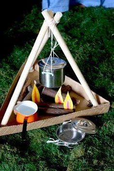indoor camping ideas for kids & indoor camping ideas for kids ; indoor camping ideas for kids activities ; indoor camping ideas for kids tent ; indoor camping ideas for kids food ; indoor camping ideas for kids sleepover Dramatic Play Area, Dramatic Play Centers, Camping Dramatic Play, Camping Parties, Camping Theme, Camping Ideas, Camping Hacks, Camping Outdoors, Camping Essentials