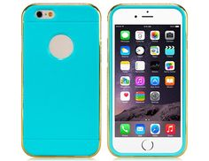 Deco Silicone and Metal Bumper for iPhone 6 #iPhone