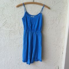 Hollister High Low Dress W/ Lace Hollister High Low Dress With Lace in excellent condition . 60% cotton and 40% modal. Very soft. Hollister Dresses