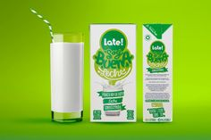 Late Milk on Packaging of the World - Creative Package Design Gallery