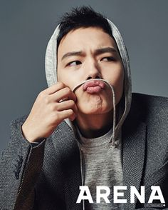 Yeo Jin Goo For Arena Homme Plus' February 2015 Issue | Couch Kimchi