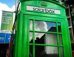 Old Phone Booths Converted to Solar-boxes!   The Raw Food World
