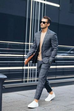 online store 9d729 e0919 Street Style Looks, Street Style Suit, Mens Fashion Blazer, Mens Fashion  Blog,