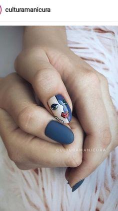 Gel Designs, Nail Art Designs, Picasso Nails, Japan Nail, Nail Drawing, Super Nails, Nail Tutorials, Nail Artist, Painted Rocks