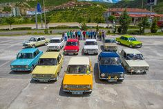 Fiat 124, Murat 124, Fiat 124s, Fiat special, Fiat coupe, Lada 2101, Lada BA3, Hacı Murat,zhiguli, Tofaş, Murat 131, Serçe, T Stop,