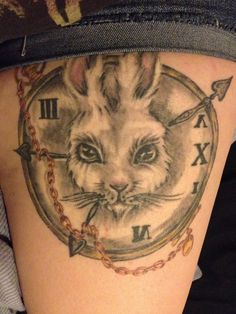 This is my Alice in Wonderland tattoo (:...Wow someone with the same tattoo!!