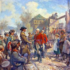 """George Rogers Clark accepting surrender at Vincennes: """"You may expect no mercy"""" (article from the Journal of the American Revolution)"""