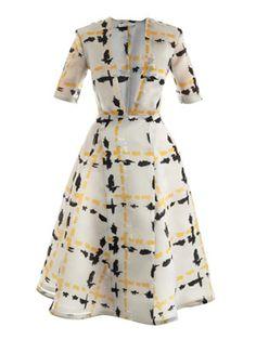 Eady silk dress