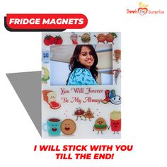 True Love is when you stick to your partner no matter what! Prove this with cute, little, customisable fridge magnets! Love Is When, Pinterest Girls, Forever Yours, Button Badge, Surprise Gifts, True Love, Magnets, Birthday Gifts, Memories