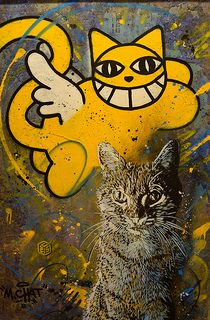 C215 & Monsieur Chat