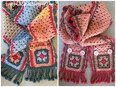 Ravelry: Granny Stripe Scarf pattern by zelna olivier