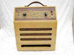 Vintage 1940s MASCO Guitar Amplifier