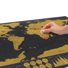 SCRATCH MAP DELUXE | Scratch-Off Wall Maps | UncommonGoods
