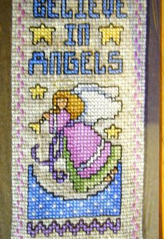 Believe in Angels Bookmark by EssentialEmporium on Etsy, $9.50