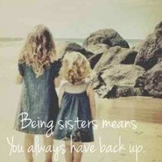 20 Best Sister Quotes & Relatable Sister Memes To Remind You How Much You Love Them | YourTango Cute Sister Quotes, Little Sister Quotes, Sister Birthday Quotes, Love My Sister, Best Sister, Little Sisters, To My Daughter, Brother Sister, Funny Sister