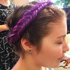Crown perfection. Hair by SALON by milk + honey stylist, Nicole D.