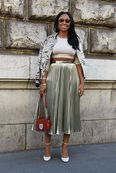 Shiona Turini at Paris Fashion Week Spring 2017