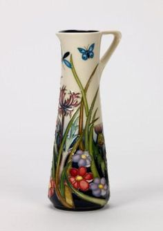 Moorcroft Pottery:  Walnut Tree Meadow by Rachel Bishop