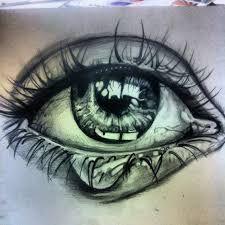 Bildergebnis für weinendes auge zeichnung bleistift